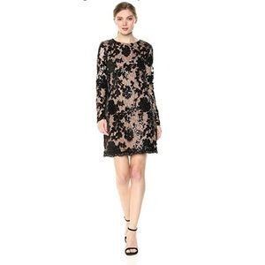 NWT Dress The Population Grace Sequin Dress Sz L